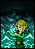 LoZ: WW - Storm Brewer by KaedeKarasuma