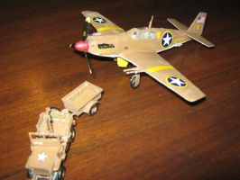 P-51A Mustang Diorama by pete7868