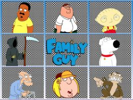 family guy brady bunch by russ09