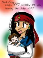 Jack and Baby Will by Devain