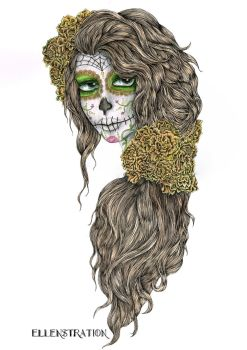 Day of the Dead by EllenStration