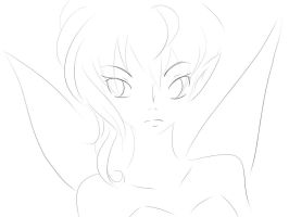 Tinkerbelle - outline by wowmom-penemily