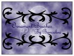 Ornament brushes by Bamseline