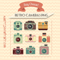 Retro Cam's Png by Waatt