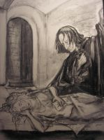 Snape and Hermione 1 by axela79