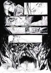 Silent Hill #1 Page 6 Original Art by T-RexJones
