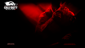 Black Ops 2 Red - PS3 Wallpaper by Msbermudez