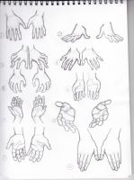 Hands Thumbnails by SparksflyStudios