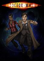 The Doctor and Martha by tracypaper12