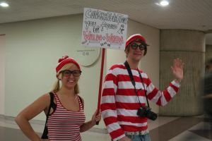 Waldo and Wenda at NYAF by Witch-Hunter-87