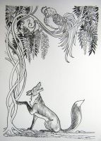 The Rooster and The Fox by HouseofChabrier