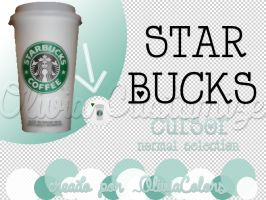 Starbucks Cursor by OliviaColors
