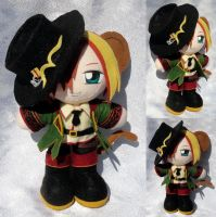 Mini Plushie, Pierce Villiers by ThePlushieLady
