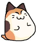 Nago the cat from Kirby by Caiterz