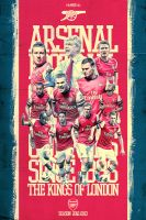 Arsenal 12/13 ''The kings of london'' by riikardo