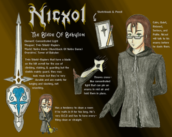 """Nobody """"Nicxol"""" Character Page by Zel-Holt"""