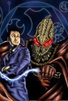 Doctor Who - Comic Style Test by westleyjsmith