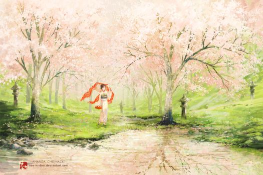 Reflections of Spring by sae-midori