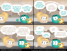SC507 - Meet Angel by simpleCOMICS