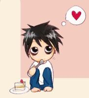 Chibi L from Death Note by Widchii