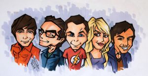 The Big Bang Theory by DarkDorArt
