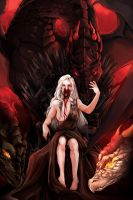 GoT: The Mother of Dragon (collab) by betrayal-and-wisdom