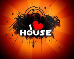 I love House wallpaper by NickoTyn