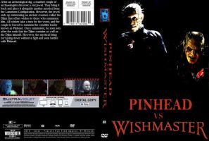 Pinhead vs. Wishmaster DVD cover by SteveIrwinFan96