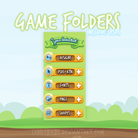 +Game Folders by CandyBiebs