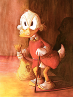 Our old Scroogey by Rysownik