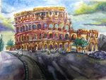 Colosseum by time-season