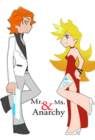 Mr. and Ms. Anarchy by starheartshooter