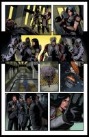 Heroes of Echo Company issue #5 pg 7 by BESTrrr