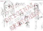 Character A: sketches by Rossally