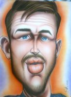 Tom Hardy by infiltr8arts