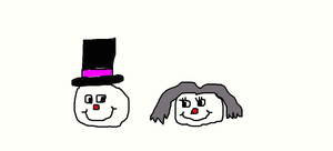 Frosty and Crystal by Simpsonsfanatic33