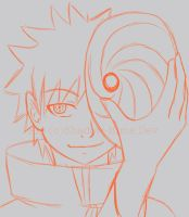 Sketch- Obito is... by Shadow-Hime
