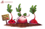 Daily Paint #1154. Rattishes by Cryptid-Creations
