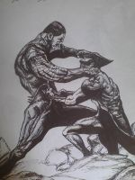 wolverine vs colossus by artkid01