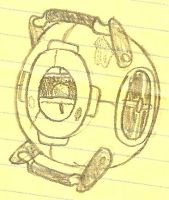 Wheatley Sketch by LBFable