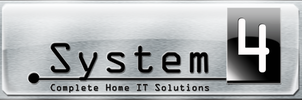 System4 Website Title Logo by Fourthletter