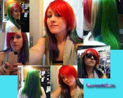 Rainbow Dash Wig by MurasakiRein
