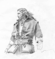 Thorin sketch by meilin-mao