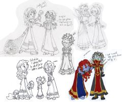 A bundle of sketches by MalisVitterfolk