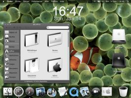 iPhone OS X desktop by pickupjojo