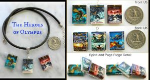 Heroes of Olympus Collection by maryfaithpeace