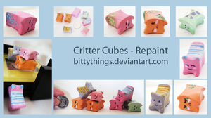 Critter Cubes - Repaint by Bittythings
