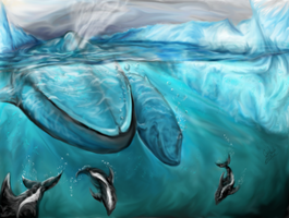 Blue-Antartic by Coolflm