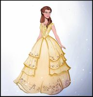 Emma Watson as Belle by didouchafik