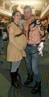 Senator Amidala and Daken by Doubtful-Della